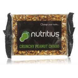 Crunchy Peanut Chikki 40 gms (Gluten-Free, Vegan)