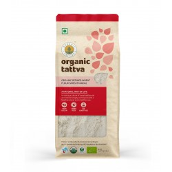 Organic Refined Wheat Flour (Maida) 500 gms (Vegan