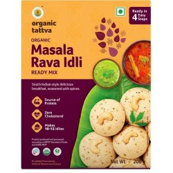 Organic Masala Rava Idli Ready Mix - 200 g