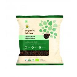 Organic Black Pepper (Gol Mari) Whole 100 gms (Glu