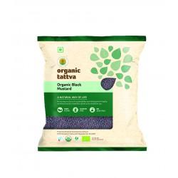 Organic Black Mustard (Rai) 100 gms (Gluten-Free,