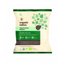 Organic Brown Mustard (Rai) 100 gms (Gluten-Free,