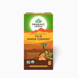 Organic Tulsi Ginger Turmeric 25 Infusion Bags