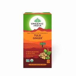 Organic Tulsi Ginger 25 Infusion Bags