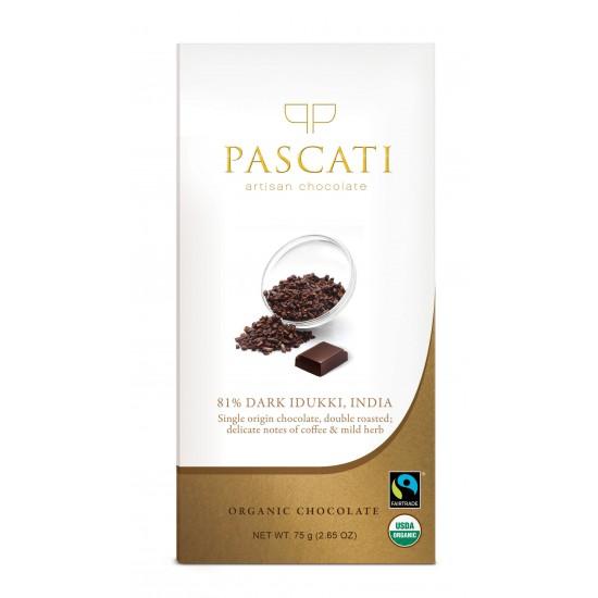 81% Dark Idukki Single Origin Organic Chocolate 75 gms (Gluten-Free, Vegan)