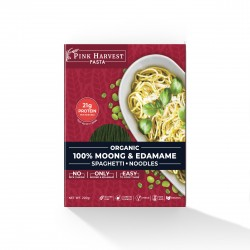 Moong and Edamame Spaghetti Noodles 200 gms (Glute