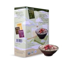 Organic Mixed Millet Flakes 300 gms (Gluten-Free)