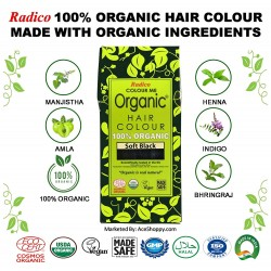 Radico Organic Hair Color (Black)