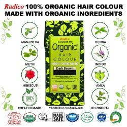 Radico Organic Hair Color (Dark Brown)