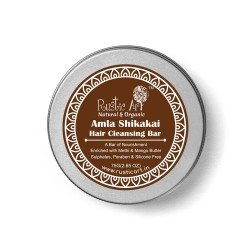 Amla Shikakai Hair Cleansing Shampoo Bar 75 gms (V