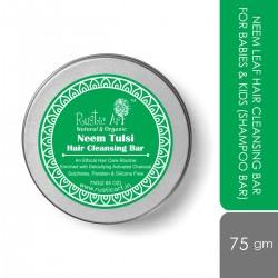 Neem Tulsi Hair Cleansing Shampoo Bar 75 gms (Vega