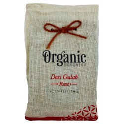 Desi Gulab Rose Organic Goodness Cotton Scented Ba