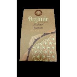 Madurai Jasmine Organic Goodness Wax Melt with 9 B