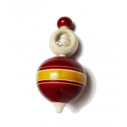 Crazy Spinning Top with A Pull-Cord