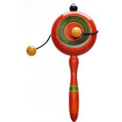 Wooden Plate Rattle Toy for New Born Kids