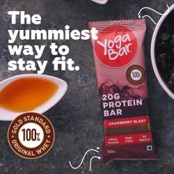 20 Gram Protein Cranberry Blast Bar 60 gms