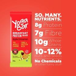 Breakfast Protein Bar Apple Cinnamon 50 gms