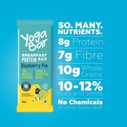 Breakfast Protein Blueberry Bars 50 gms