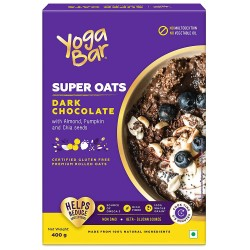 Dark Chocolate Super Oats with Almond, Pumpkin and