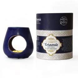 Ceramic Oil Vaporiser Blue Bowl