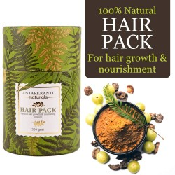 Ayurvedic Hair Pack for Hair Growth and Nourishment 250 gms