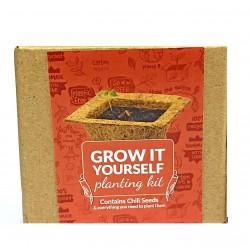Grow It Yourself Planting Kit Chili Seeds