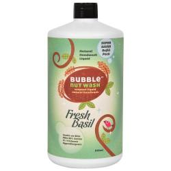 Natural Hand Wash Liquid Fresh Basil Refill Pack 8