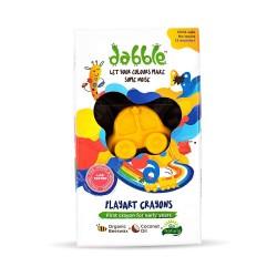 Non Toxic Organic Beeswax Crayons in 3 Fun Chunky
