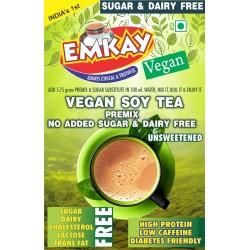 Vegan Soy Tea Premix Unsweetened 200 gms (Diabetic