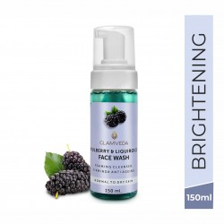 Mulberry and Liquiroice Brightening Foaming Face W