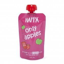 Happa Organic Baby Food, Fruit Puree (Only Apples)