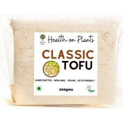 Classic Soy Tofu Made With Organic Soybeans 200 gm
