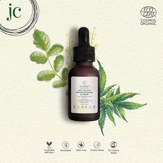 100% Organic Frankincense Acne and Blemish Control Facial Oil 10 ml (Vegan)