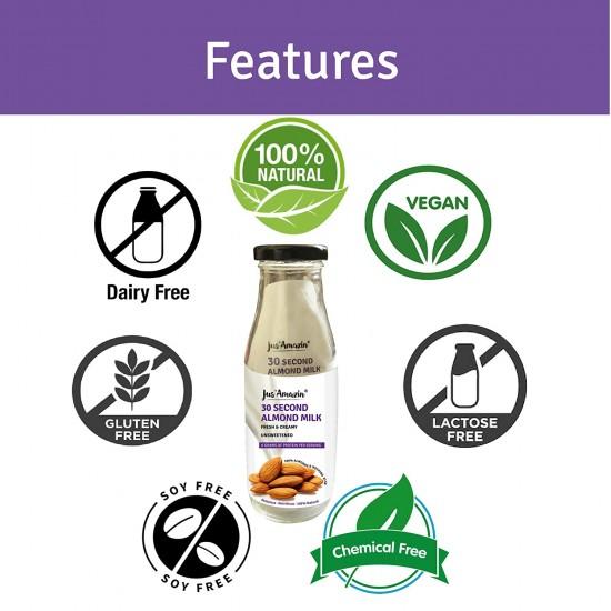 30 Second Almond Milk Unsweetened 125 gms (Vegan)