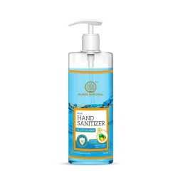 Hand Sanitizer with Aloe Vera and Lemon for Soft S