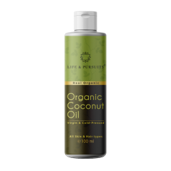 Organic Virgin and Cold Pressed Coconut Oil 100 ml