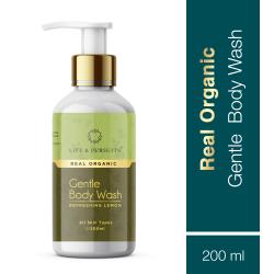 Organic Gentle Body Wash Refreshing Lemon 200 ml