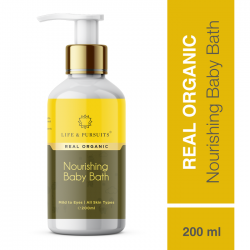 Organic Nourishing Baby Bath 200 ml