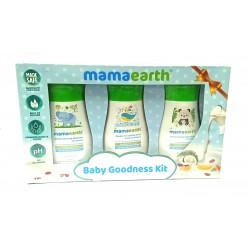 Baby Goodness Kit ( Gentle Cleansing Shampoo, Deeply Nourishing Body Wash, Moisturizing Daily Lotion) 3x100 ml