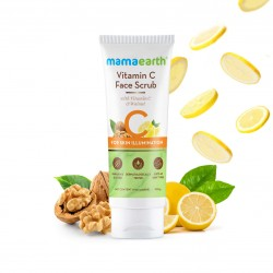Vitamin C Face Scrub for Glowing Skin, With Vitami