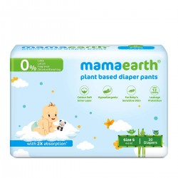 Plant Based Diaper Pants for Babies (Size-S) 30 Pc