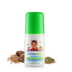 Easy Tummy Roll On for Colic and Gas Relief with Hing and Fennel Oil 40 ml