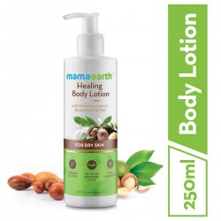 Healing Natural Body Lotion with Argan Oil and Mac