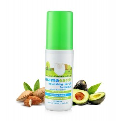 Nourishing Baby Hair Oil with Almond and Avocado 1