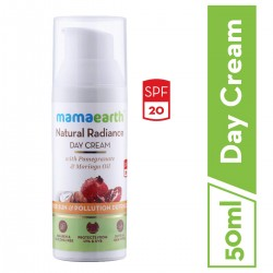 Day Cream SPF 20 with Pomegranate and Moringa Oil 50 gms