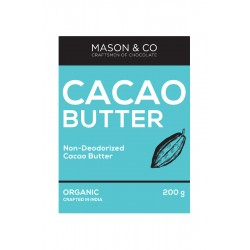 Cacao Butter Non Deodorized 200 gms