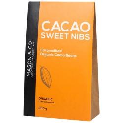 Cacao Sweet Nibs 300 gms (Caramelised Organic Caca