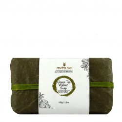 Green Tea and Walnut Soap 100 gms (Vegan)