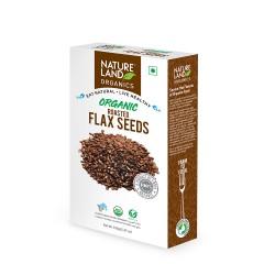 Organic Roasted Flax Seed (Alsi) 100 gms