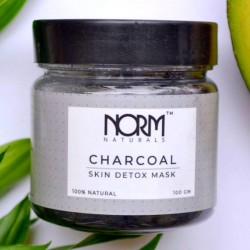 Natural Activated Charcoal Face Mask with Tea Tree